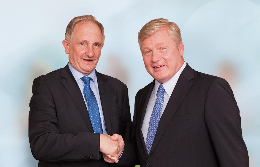 Spitzenkandidat Bernd Althusmann und CDU Landtagskandidat Joachim Stünkel